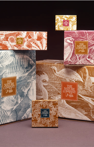 The Nature Company Gift Packaging 1992