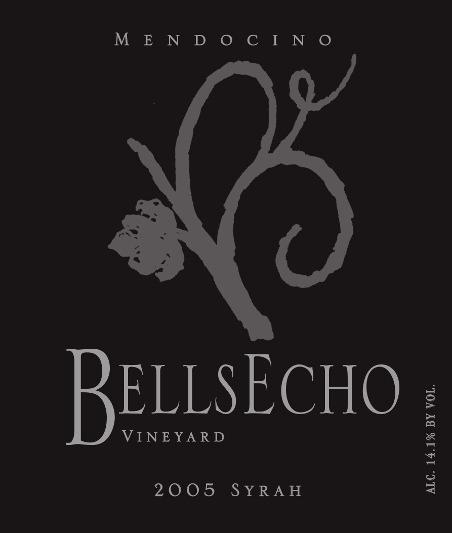 Bells Echo Vineyard Syrah Label 2008