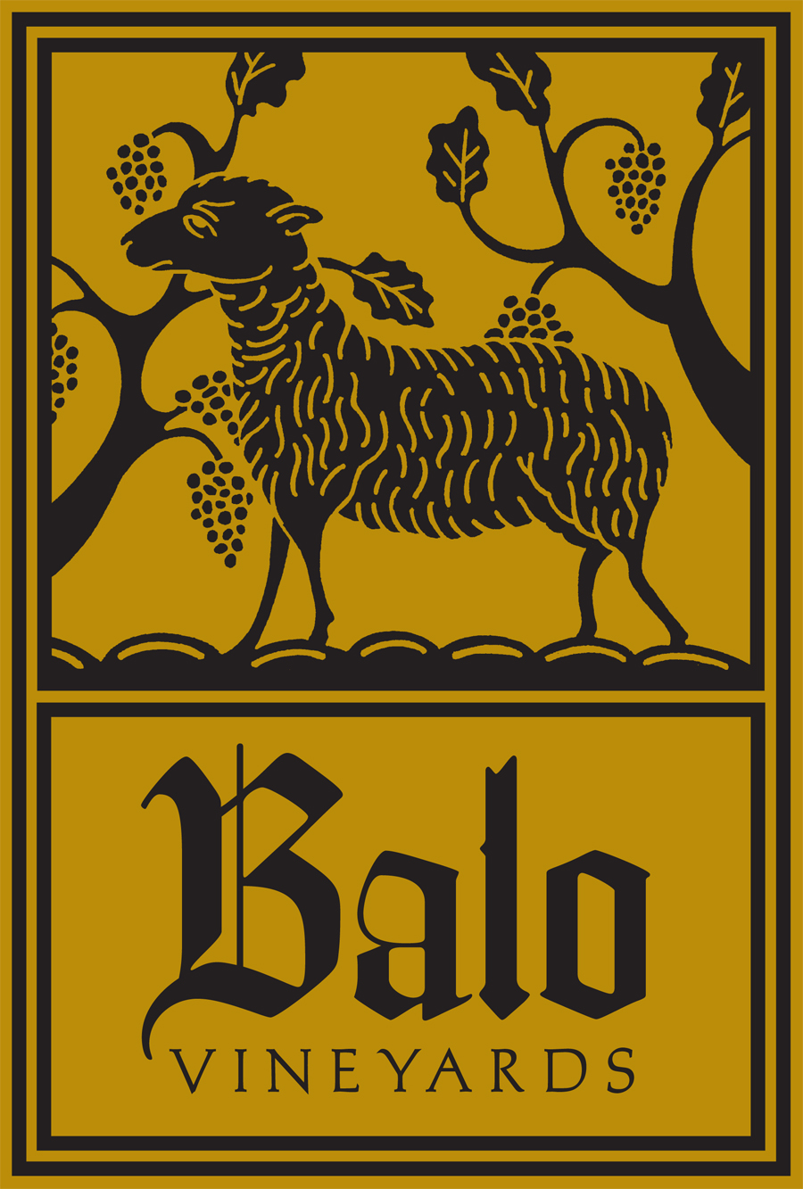 Balo Vineyards Wine Labels 2009