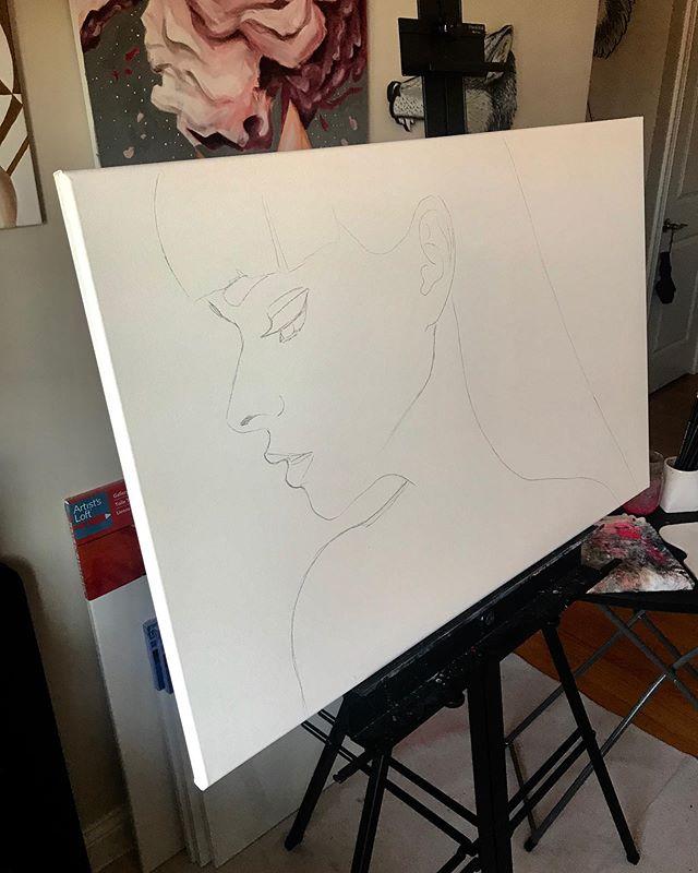 Saturdayz 🎨 . . . #art #paint #painting #sketch #sketching #chicago #chicagoart #chicagoartist