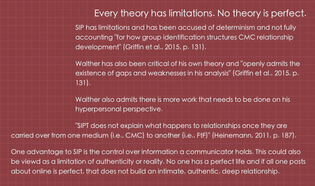 Limitations - What are the limitations of the social information processing theory?