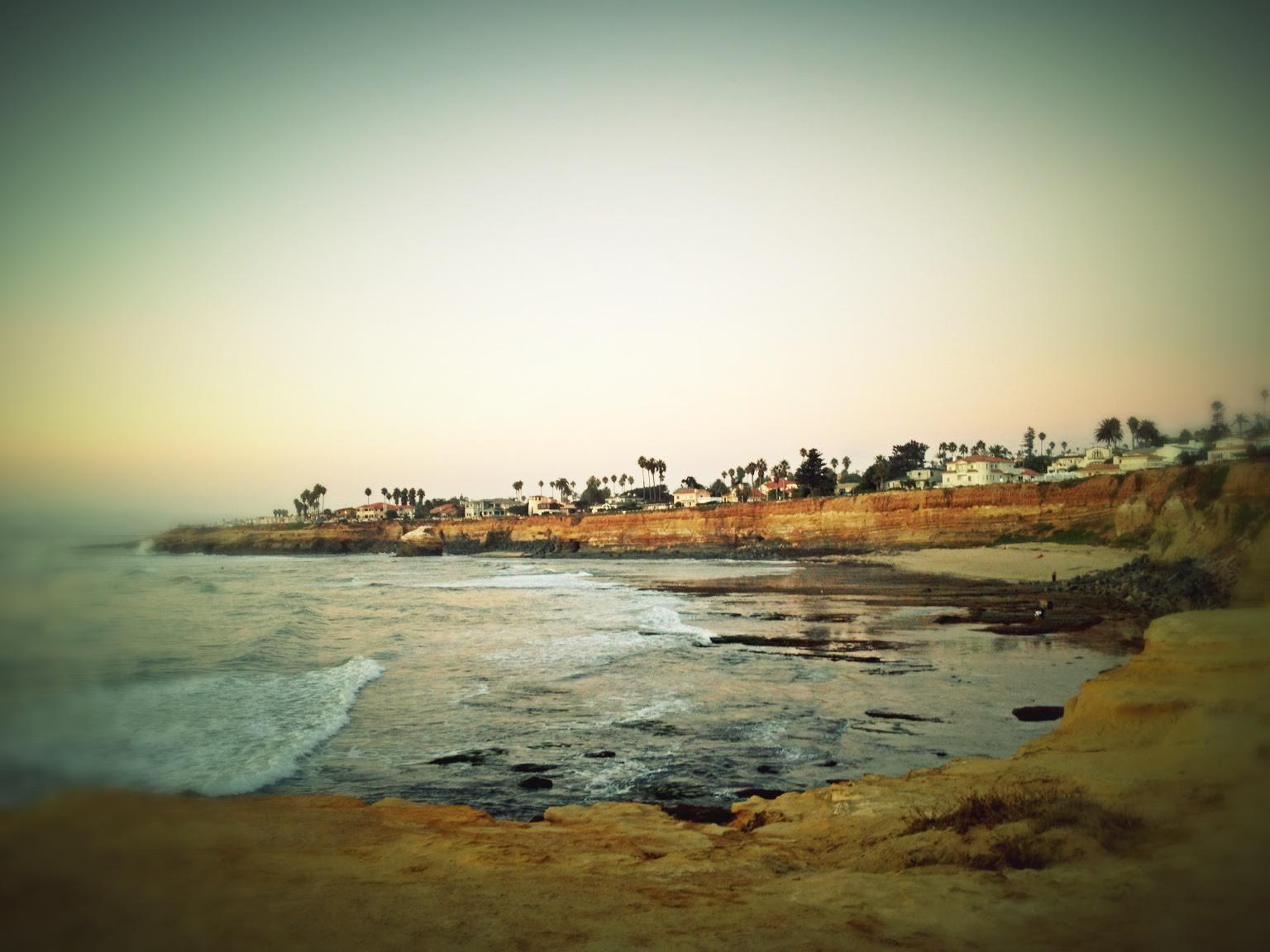 Point Loma Sunset Cliffs Twilight