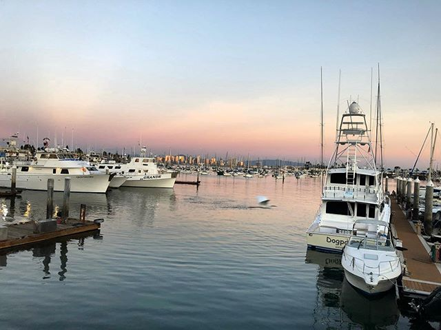 Mellow sunset tonight. #pointloma