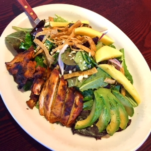Southwest Chicken and Mango Salad