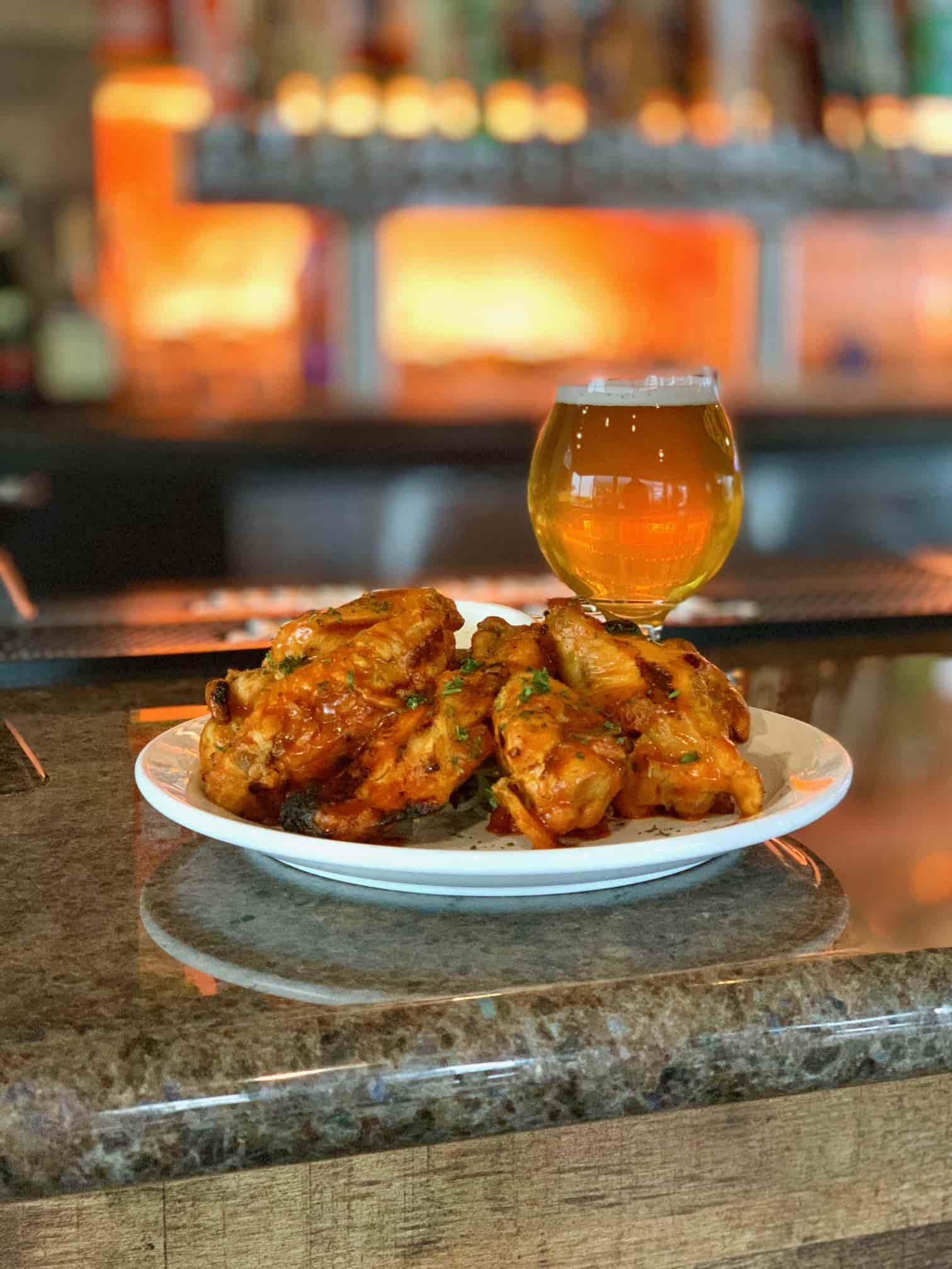 Grilled Wings & Craft Beer