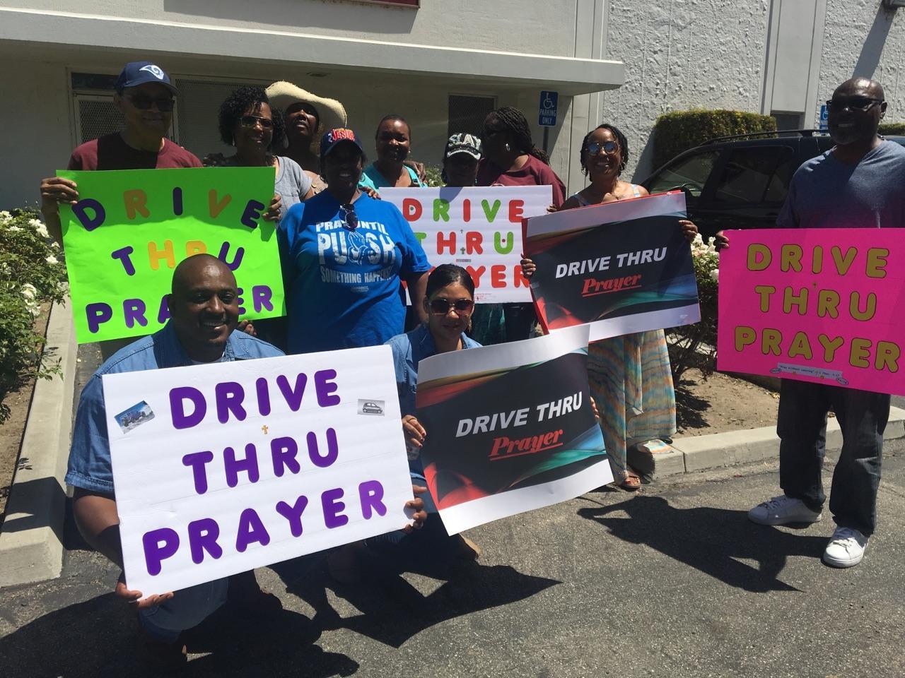 - Drive-Thru Prayer