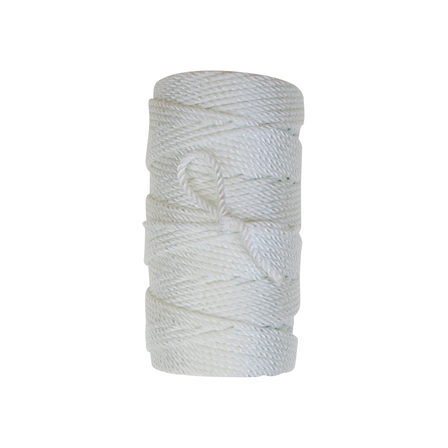 Evergrip Twine - This three strand twisted twine is produced using 100% industrial nylon with special textured fibers to provide enhanced grip for knot set and adhesion. Can be dyed green. Dyed twines are locally dyed, linear processed, and dried in gas fired ovens.