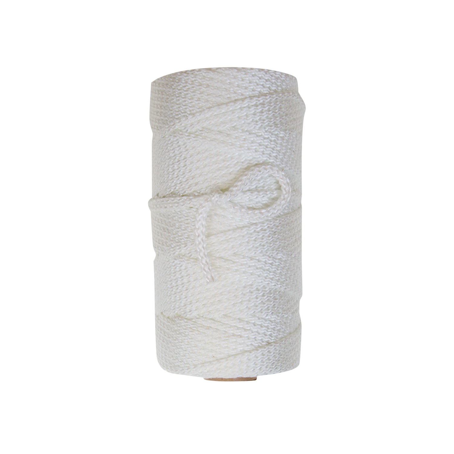 Power Grip - Power Grip twine is an 8-carrier construction made from industrial natural white nylon blended with textured nylon to provide enhanced grip for knot set and adhesion. Offered in 1 lb put-ups with 12 lbs to a case.