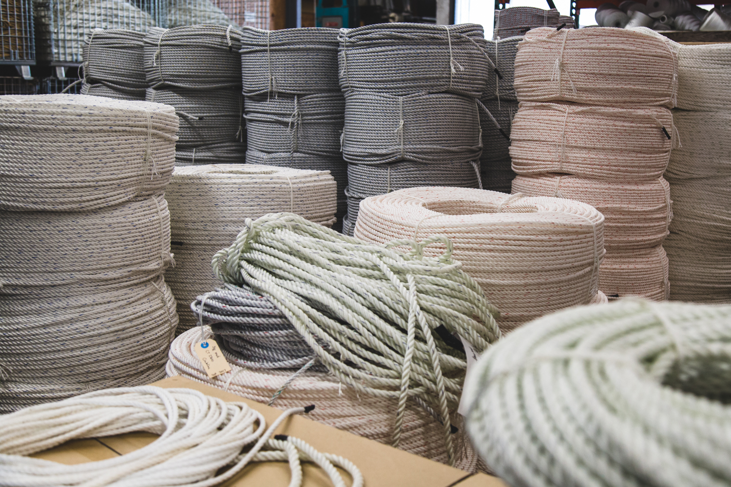 Proudly made in the USA - Since 1979, Everson Cordage Works has manufactured our products at our plant right here in the USA. We stand behind our ropes and twines.