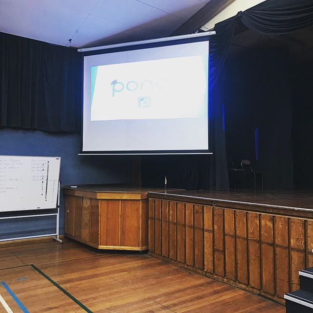Lovely to be able to present to the YR12s at Papanui High today! Don't forgot to download Pondr today! 🎓👍#pondrnz