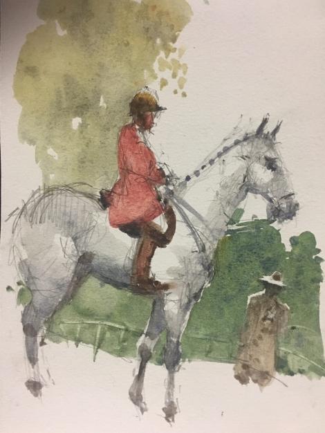 Sketch by Stewart White