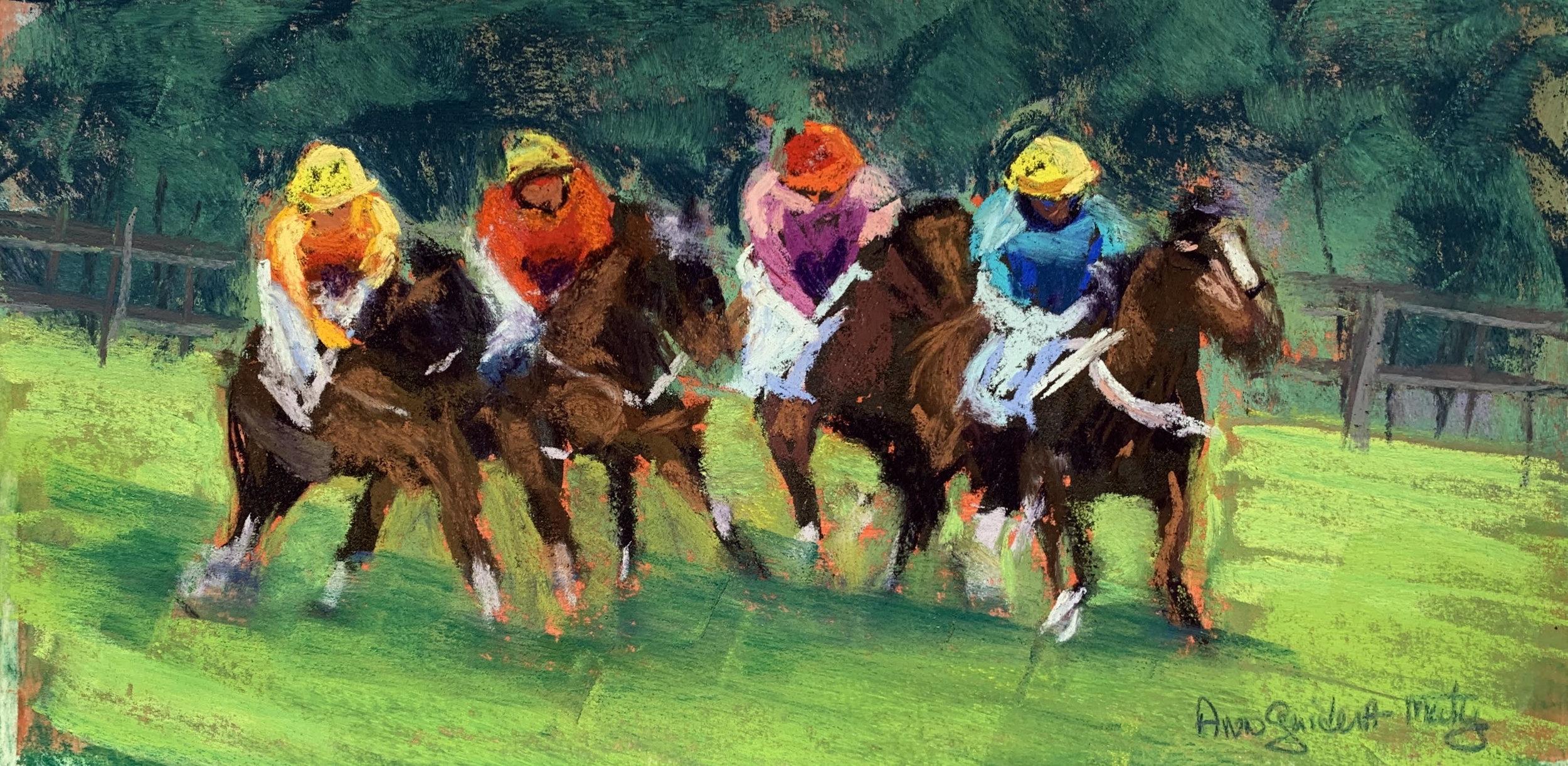"""""""Jockeying""""  Ann Guidera-Matey"""
