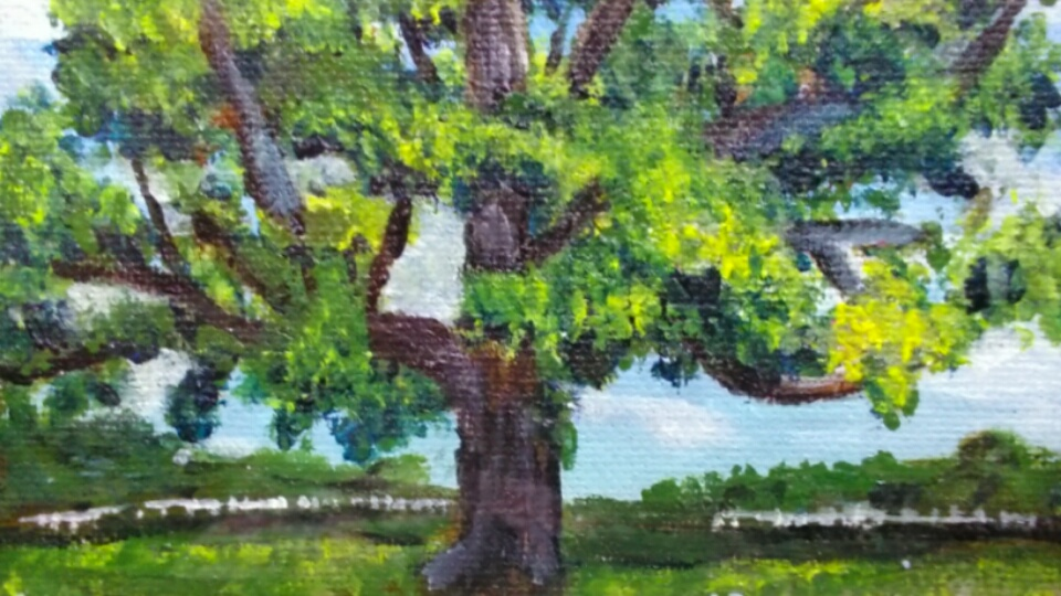 """Wedding Tree""  Jenn Touhill"