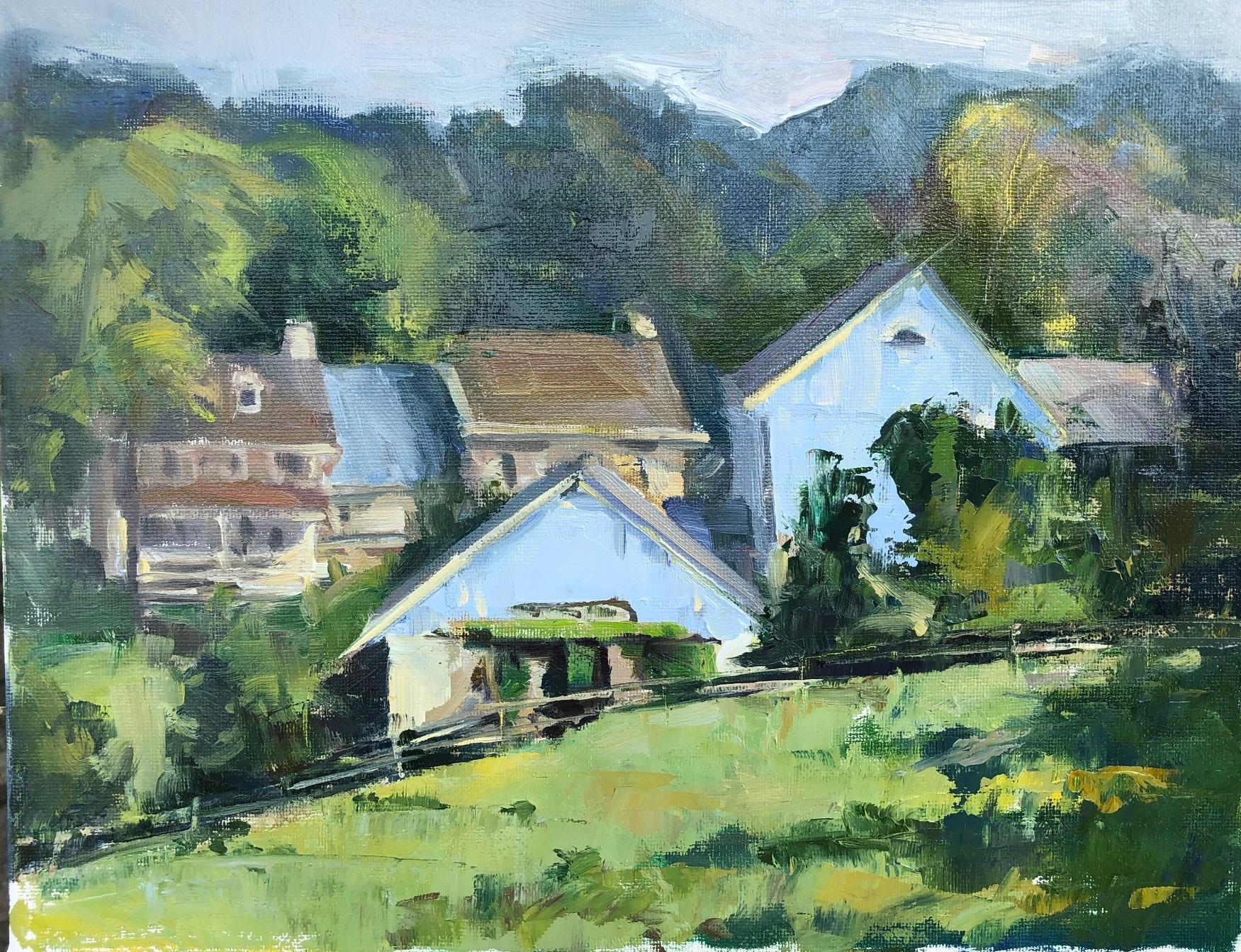 Rose Hill Farm by Jacalyn Beam