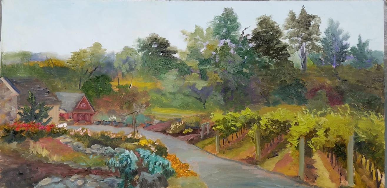 Braggs Hill Winery by  Sue Stefanski