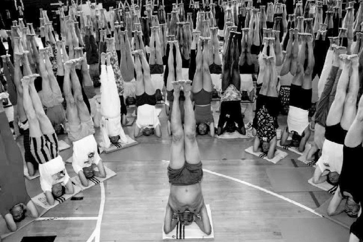 """Called the """"Michelangelo of yoga"""" and the """"king of yogis,"""" named one of Time Magazine's most influential people in the world, Bellur Krishnamachar Sundararaja (B.K.S.) Iyengar is universally acknowledged as the world's greatest yoga teacher."""