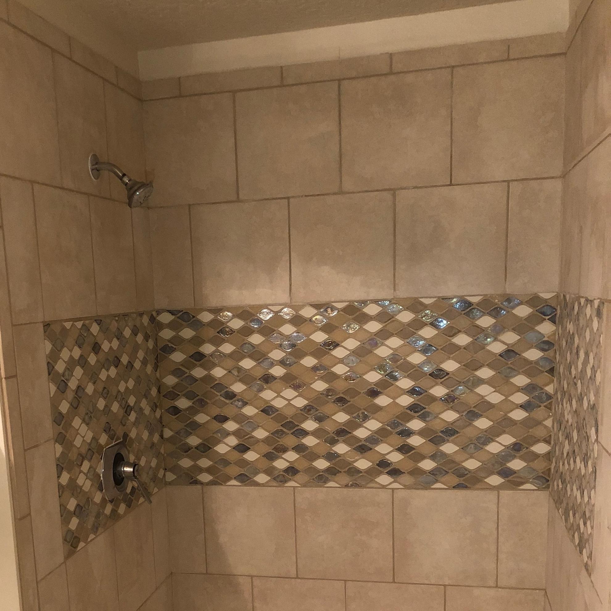 Shower remodel -