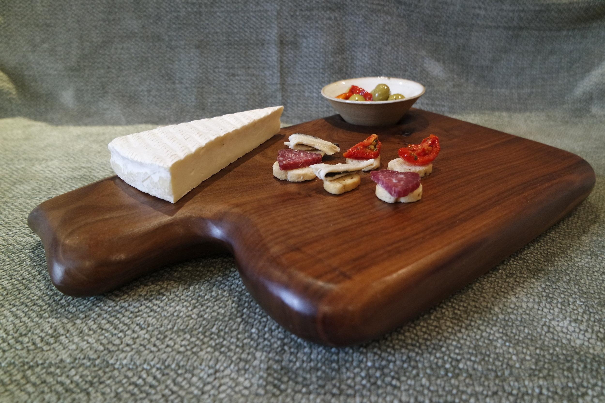 Black Walnut Cheese Board - Chopping Board