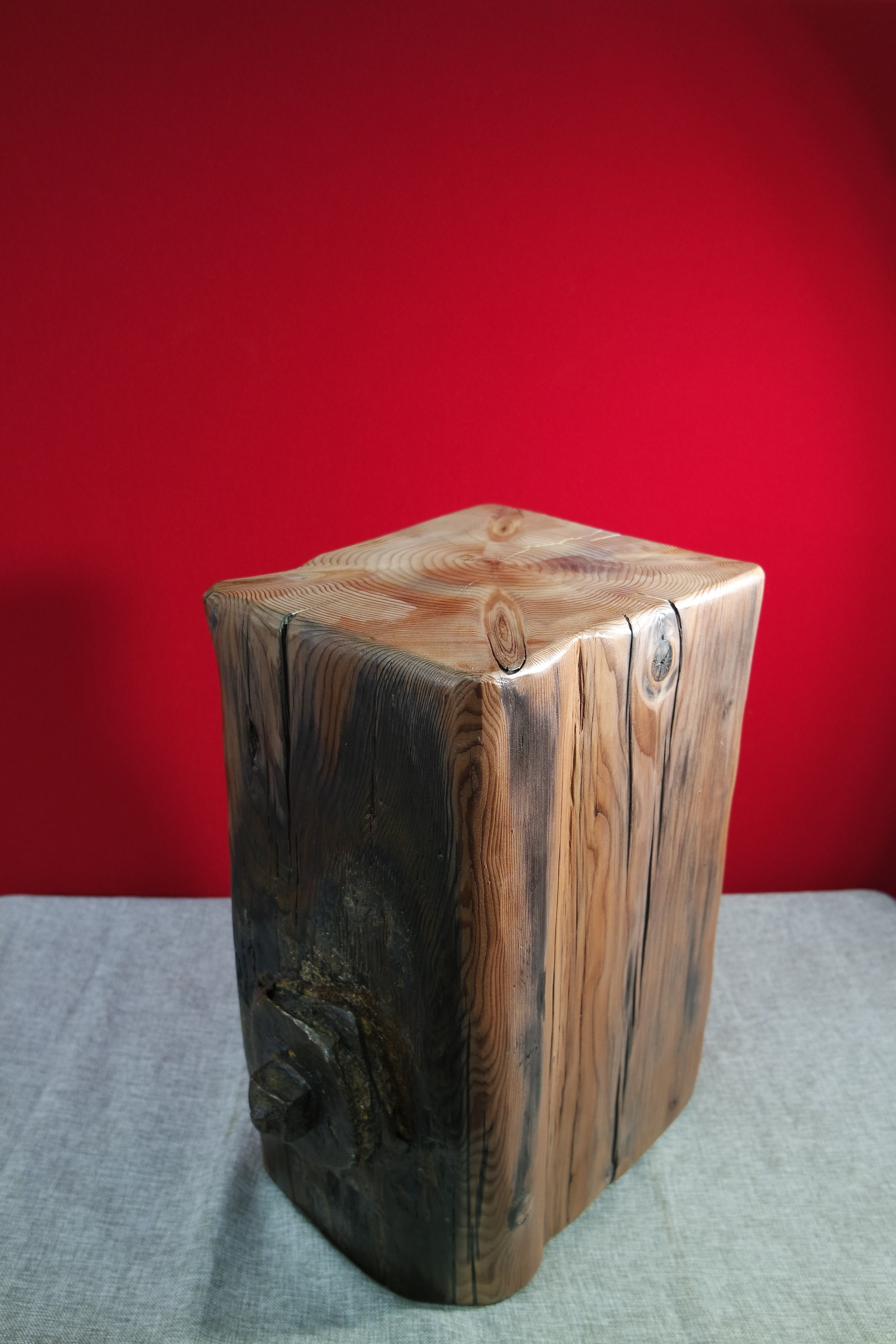Driftwood Stool with Iron Bolt No I (24).JPG