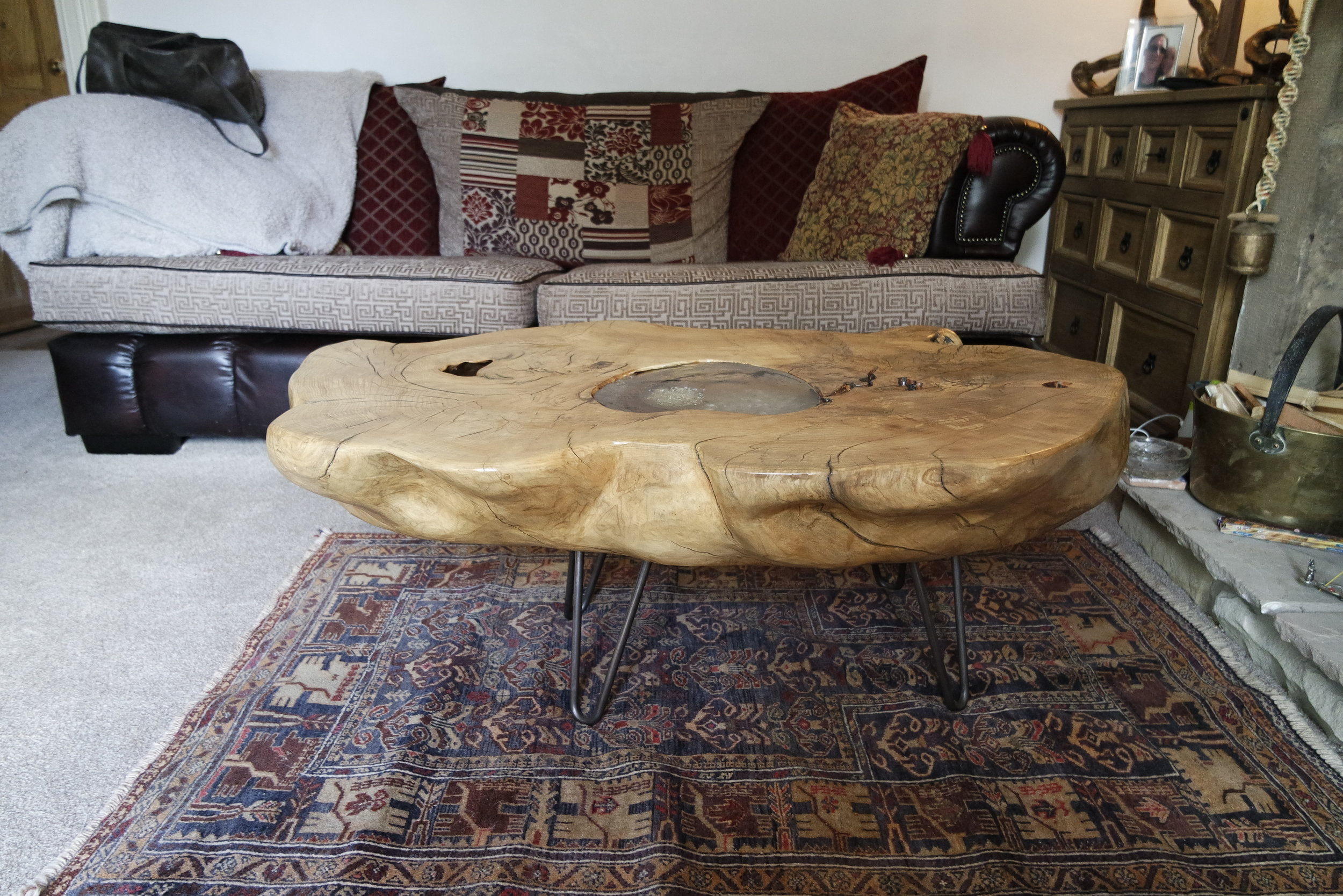 The Finished Table in its new home