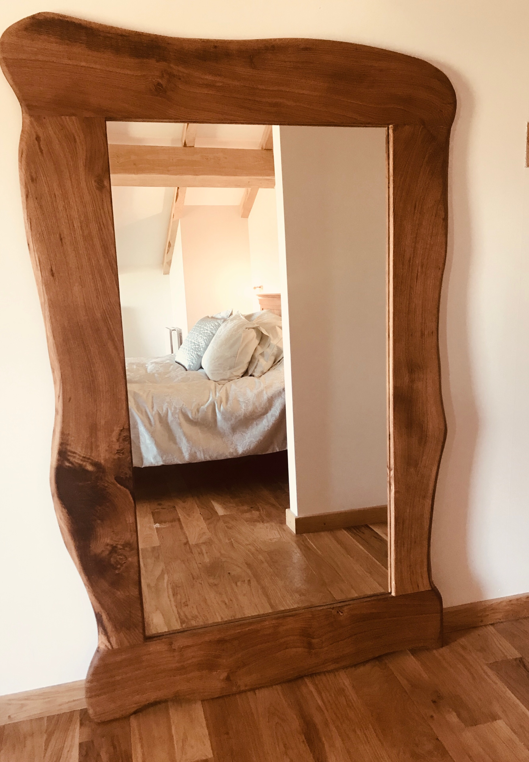 The Lakeside Oak Mirror -