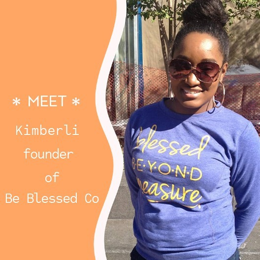 Meet Kimberli founder of @beblessedco an urban clothing company that dares to transcend the traditional to highlight the beauty and complexity of being a spiritual person in today's world. ====== HELLA BROOKLYN!! 🎈👕👚🎈 June 29th 11am to 6pm Bring your friends, family, coin purse, appetite, street fashion, and good vibes to 202 Eastern Parkway (📍Washington Street between Eastern Parkway & President Street). #HellaBrooklyn #inthepearlmarket