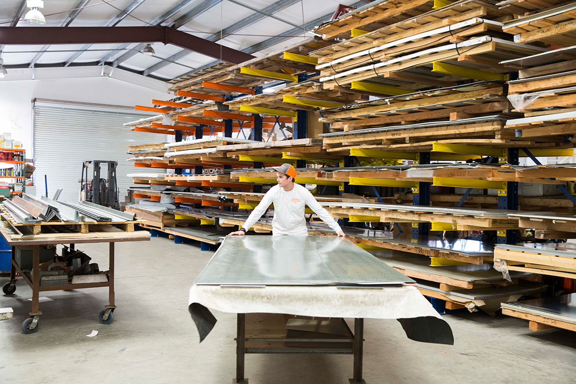 <p><strong>Metal Fabrication</strong><i>More →</i></p>