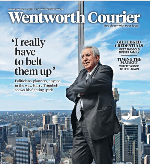 Wentworth Courier, May 2019 - Harry Triguboff - Top of his Game