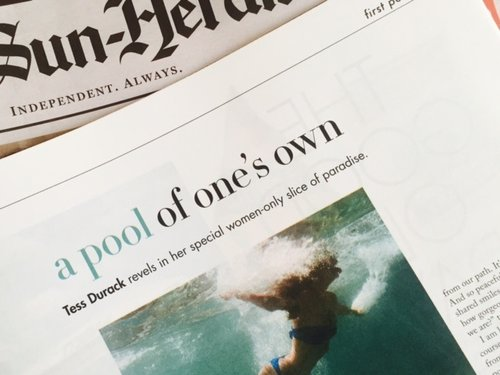 Sunday Life, Jan 2019 - A Pool of One's Own
