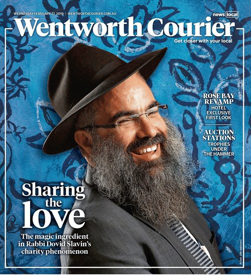 Wentworth Courier, Feb 2019 - Rabbi Slavin - Food for the Soul
