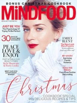 Mindfood Magazine, Dec 2018 - Stand Like a Girl