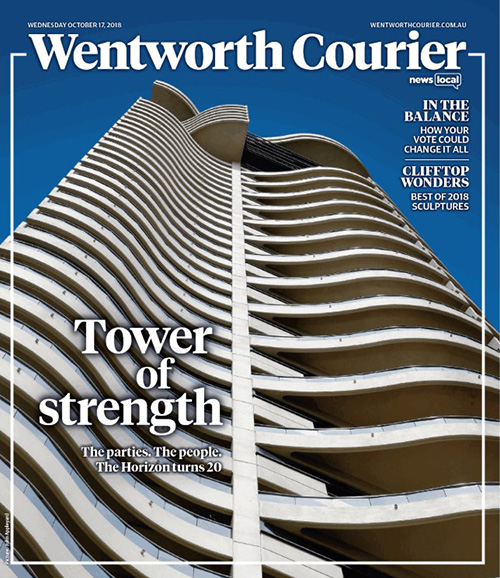 Wentworth Courier, Oct 2018 - If these walls could talk