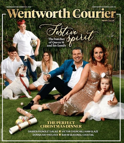 Wentworth Courier, Dec 2018 - Merry and bright with the butcher of Queen Street