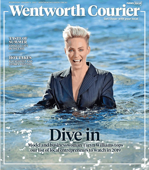 Wentworth Courier, Jan 2019 - Taryn Williams - No Ordinary Modellliams