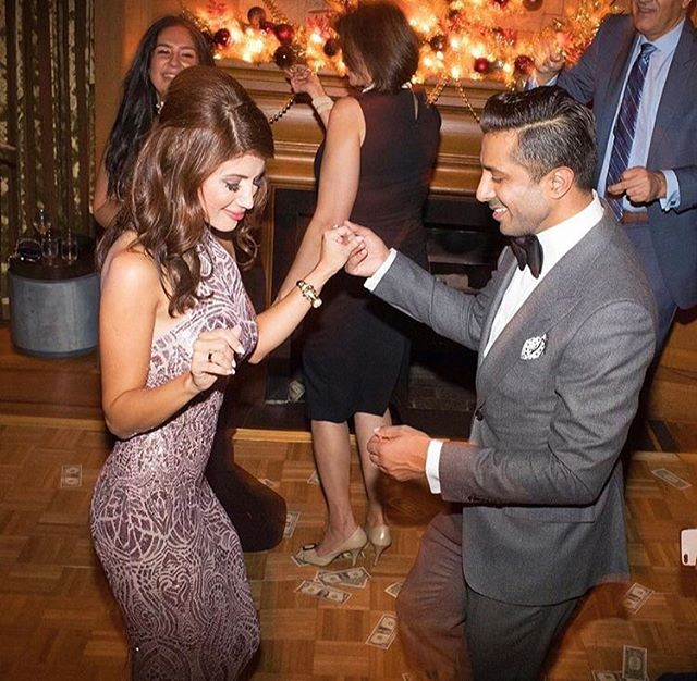 Congrats to Irfhan & Marjan on their wonderful engagement party. It was a beautiful celebration at the Vancouver Club. Love the warm romantic cozy feel of the ground floor fireplace lounge. ☺️💛🔥 @marjan.nej @irfhanjiwani @vancouverclub