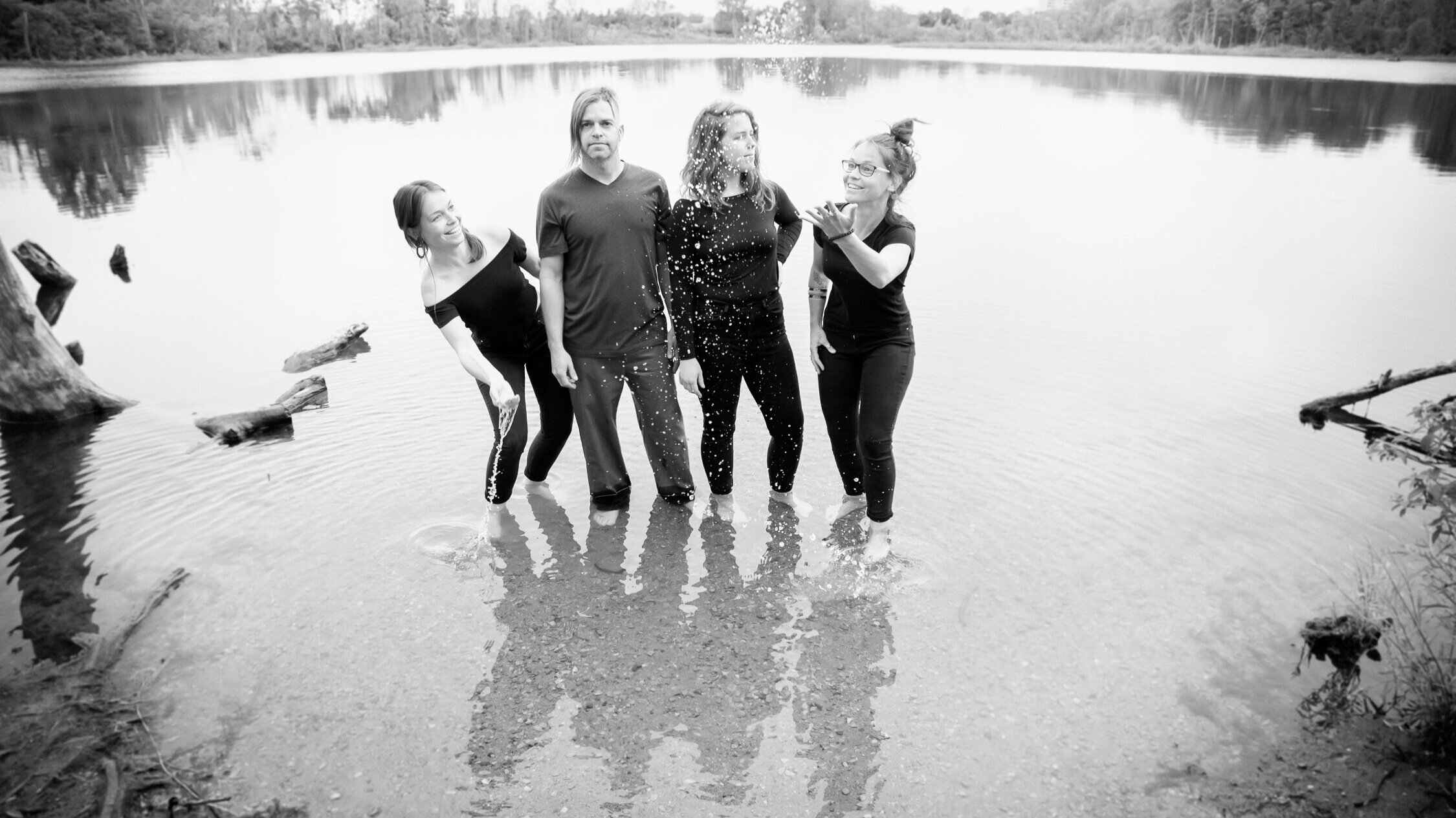 Renee, Steve, Hillary, Noelle  Photo Credit:  Michaela Devine Photography