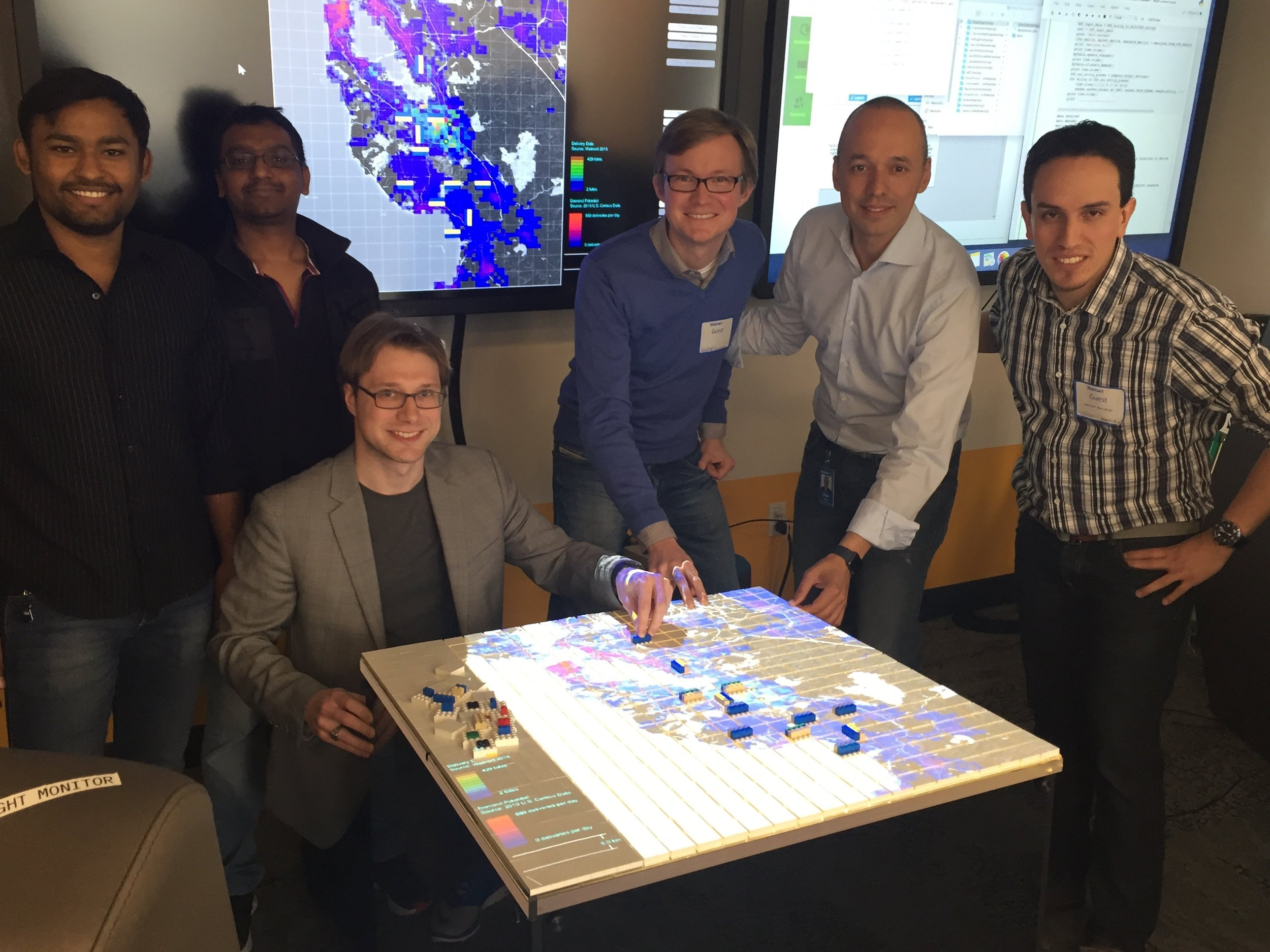 Last Mile Logistics - an implementation of the tactile matrix with mit center for transportation and logistics and walmart.