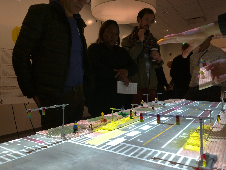Street-scale CityScope of Bus Rapid Transit (BRT) Stations