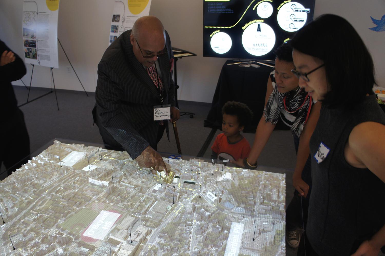 Neighborhood-scale CityScope of Bus Rapid Transit (BRT) Alternatives