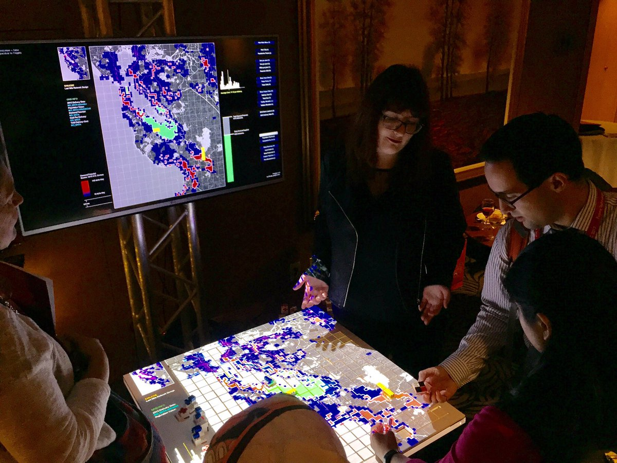 MIT Researcher Nina Lutz Presents Tangible Interactive Matrix Prototype at FTC 2017