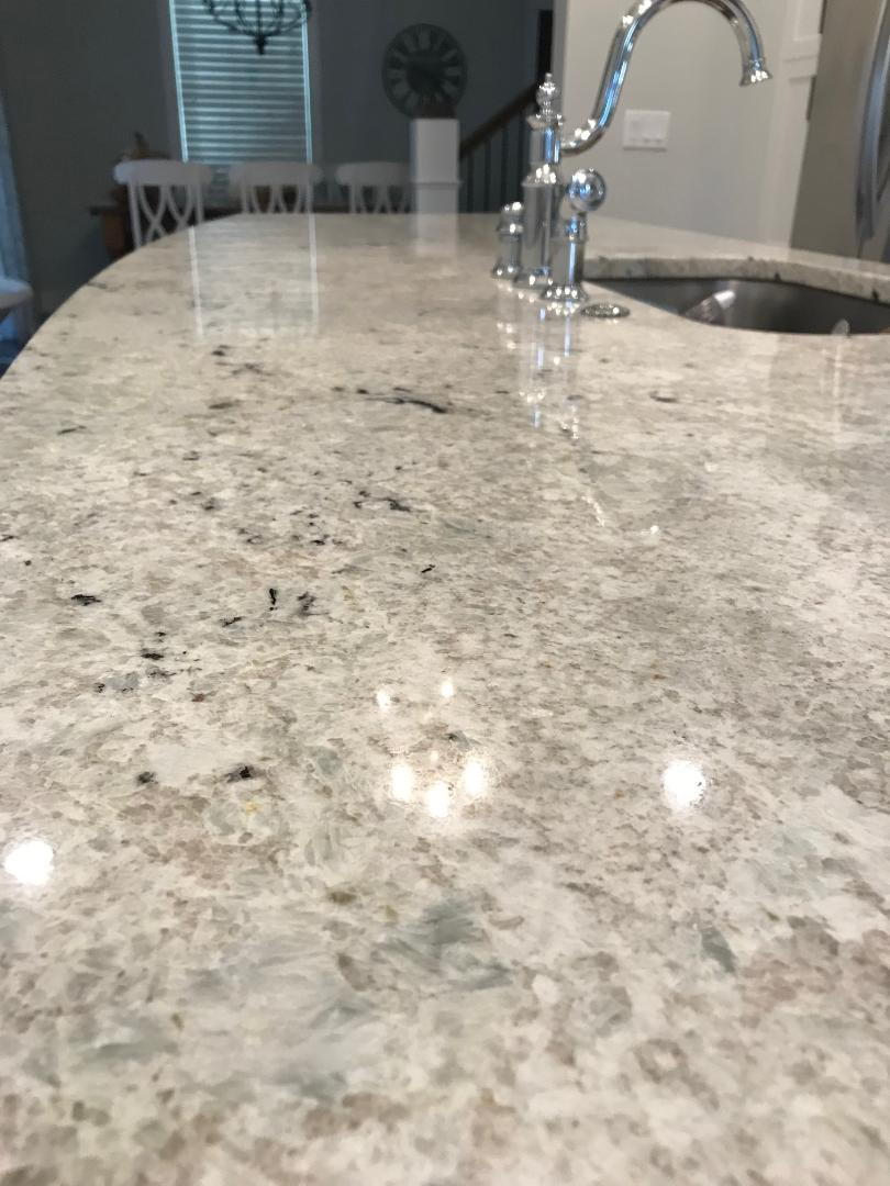 This WHOLE island countertop was a remnant piece of granite.