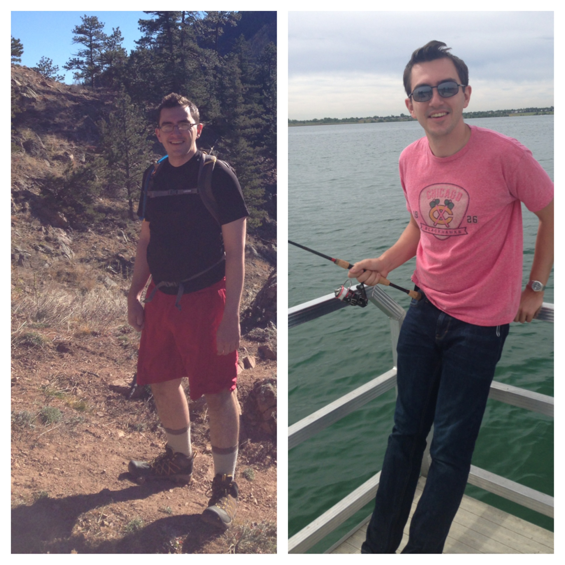 A few months of consistently eating meat and vegetables, getting your stress under control, and hiking does wonders.