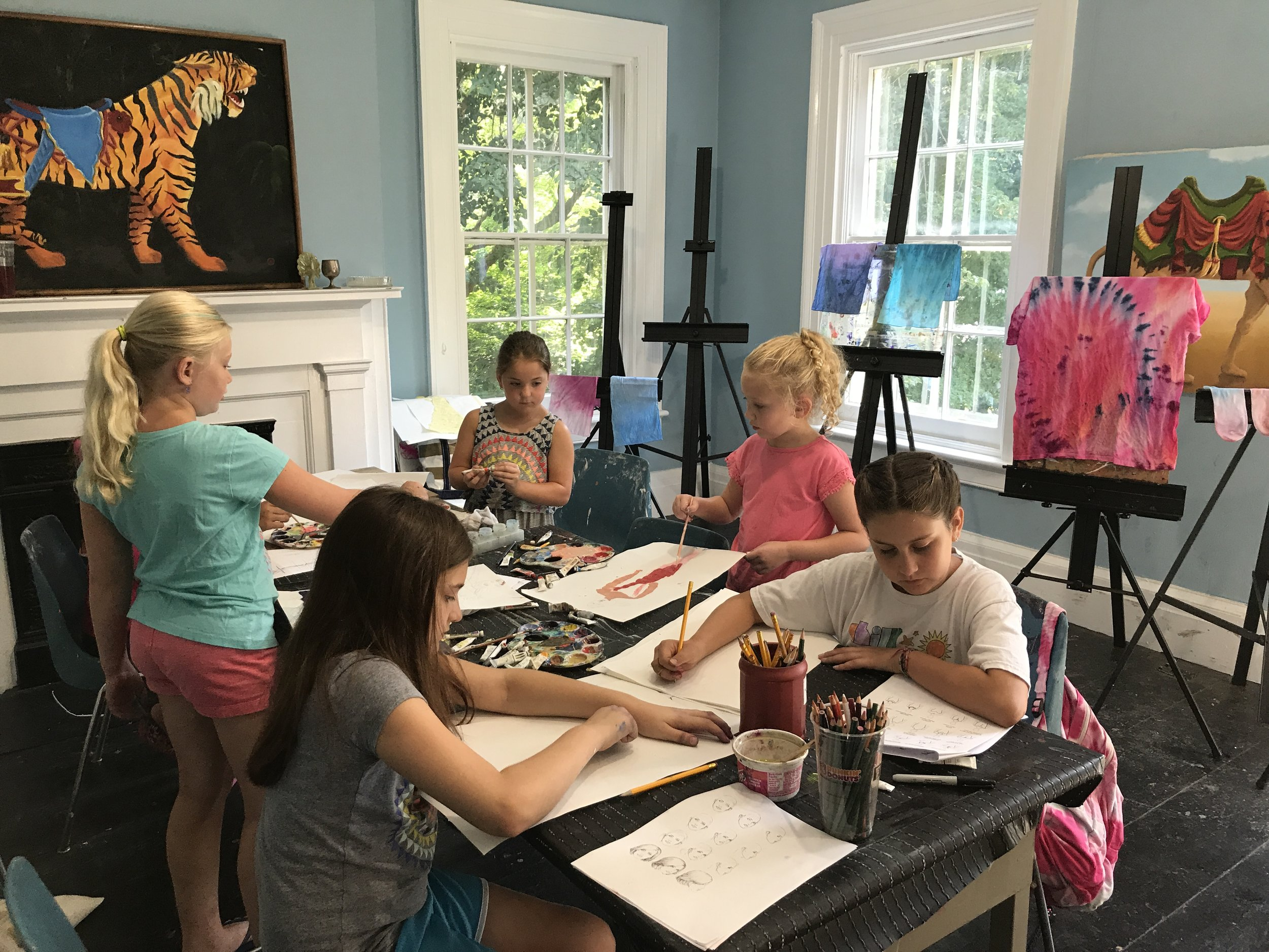 Art Classes for Children & Adults