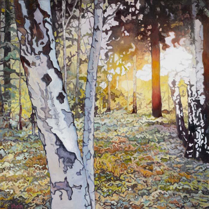 Shain Bard - October Woods - Oil