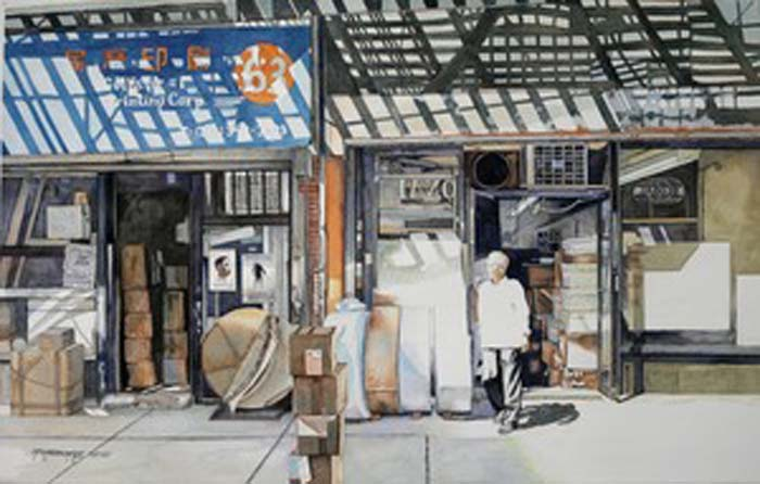 Printing Shop - Watercolor - 19x30