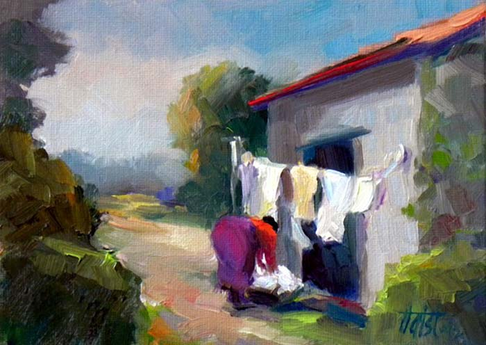 Bringing in the Wash - Oil
