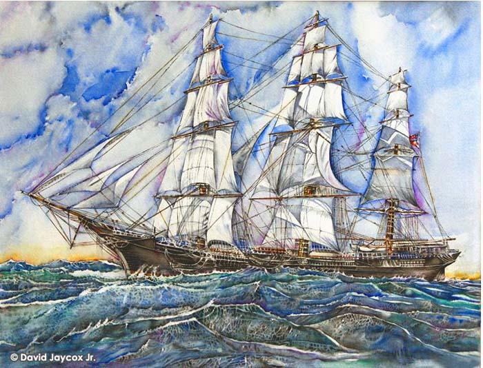 David Jaycox Jr. - James Baines at Sea