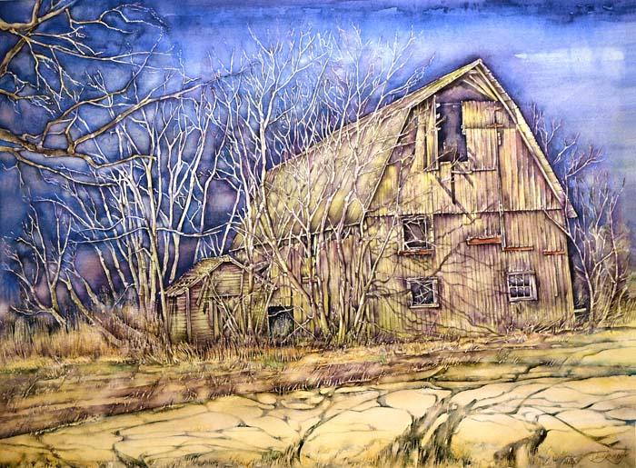 Jaycox Jr, David - Night Shadows-Watercolor