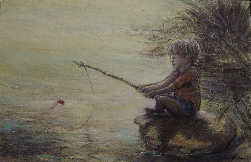 James M. Berger-Patience-Oil on Panel-$2200