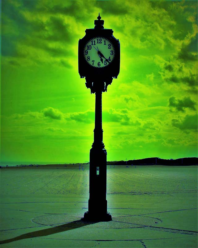 Michael Sauer-Time is Finite, Horizons are Infinite-Photograph-$200